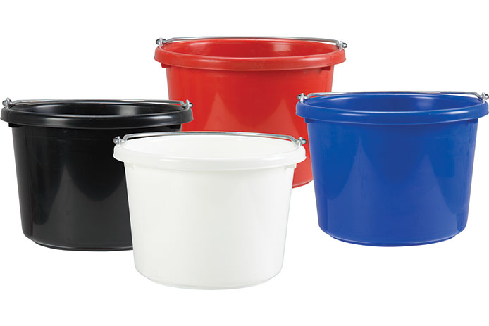Different color buckets