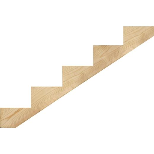 Kitzmans 2 In. x 10 In. 5-Step Treated Precut Stair Stringer