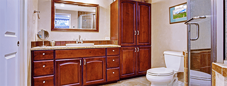 Bathroom Wooden Cabinets