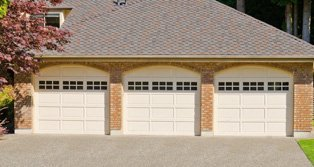 Three Door Garage